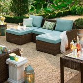 Build Your Own Outdoor Patio Set