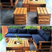 Diy Pallets Patio Furniture