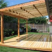 How To Build A Simple Patio Cover