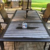 How To Clean Oxidized Cast Aluminum Patio Furniture