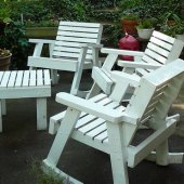 How To Clean Painted Outdoor Wood Furniture