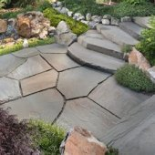 How To Make A Flagstone Patio With Mortar