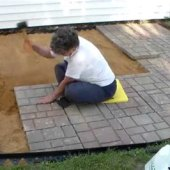 How To Make An Easy Paver Patio