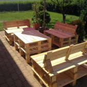 How To Make Patio Furniture With Wood Pallets