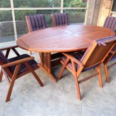 Jensen Jarrah Patio Furniture