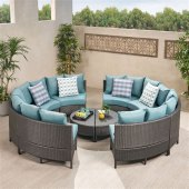 Round Sectional Patio Furniture