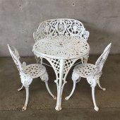 Used Vintage Wrought Iron Patio Furniture